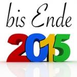 bis Ende 2015