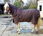 Outdoordecke / Horseware Amigo Bravo 12 Plus Brown-Red