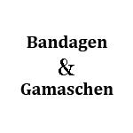 Bandagen & Gamaschen