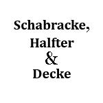 Schabracke, Halfter & Decke