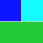 Blau-Töne & Petrol-Töne & Grün-Töne