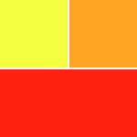 Gelb-Töne & Rot-Töne & Orange-Töne